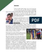 Informe de Divulgación sobre la emigración venezolana