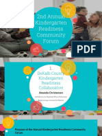 2021 Kindergarten Readiness Community Forum