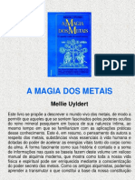 a Magia dos Metais (pro J. Nunes)