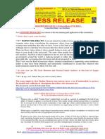 20210206-PRESS RELEASE Mr G. H. Schorel-Hlavka O.W.B. ISSUE -Genocidal Fake Vaccinations