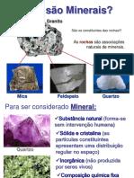 2- O que são Minerais