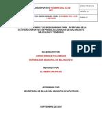 1. PROTOCOLO  DE BIOSEGURIDAD IMDER APARTADÓ