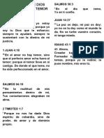 7 PROMESAS DE DIOS PARA VENCER EL TEMOR