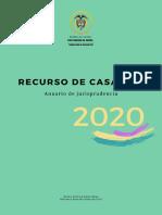Anuario de Jurisprudencia 2020