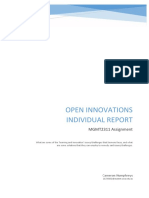 Open Innovations at Siemens Individual A