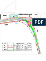 ROW Details at Ch.32+275 Flyover Location-DPR Proposed Center Line(24.2 Offset) 08.01.21-Model