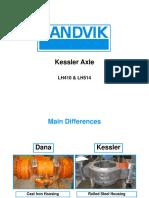 LH410 Kessler Axle