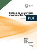 Livro Biologia Da Conservacao Ambientes Aquatico