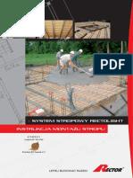 3.3 - Instrukcja montazu stropu w systemie RECTOLIGHT