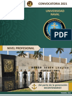 CONVOCATORIA Universidad-Naval 2021 Nivel superior