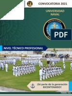 CONVOCATORIA Universidad Naval 2021 Nivel Técnico profesional