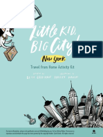 Little Kid, Big City! New York Travel from Home Activity Kit