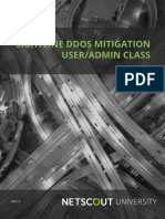Learners Guide - SightlineTMS DDOS UserAdmin Course (v1.9_r9.3.5)