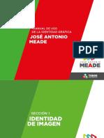 manual de identidad campaña politica jose antonio meade