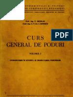 Curs General de Poduri - Volumul I