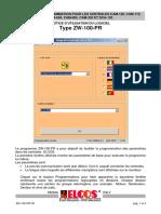 Manuale Zw 100 Pr Fr