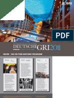 Deutsche GRI 2011 Brochure