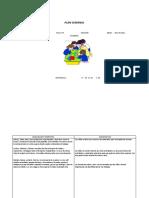 FORMATO DE PLANIFICACION QUINCENAL