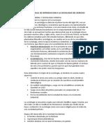 RESUMEN DE MANUAL DE INTRODUCCION A LA SOCIOLOGIA DEL DERECHO pt 1