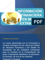 Informacion Financiera en Moneda Extranjera