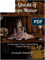 The Ghosts of Craven Manor - A Ghostly Time Travelling Game Book