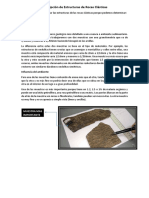 Descripción de Estructuras de Rocas Clásticas