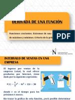 Derivada de Una Función - S5 (1)