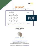 Autodyn Theory Manual