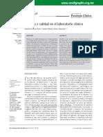 Artículo 02 Bioética y Calidad en El Laboratorio Clínico