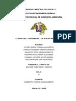 DIAGRAMA DE FLUJO DE AGUAS RESIDUALES