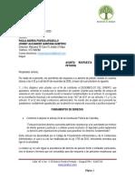 Respuesta a Derecho de Petición Del 04-11-2020 - Sres. Paula Andrea y Jhonny Alexander - 804 t4 Hacienda El Bosque