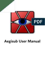 Aegisub_Manual