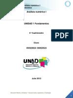 ANTOLOGIA Analisis Numerico I Unidad 1 F