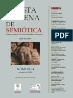 REVISTA CHILENA DE SEMIOTICA