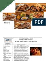 Bolivia - Recetas Tradicionales la Paz - EHT