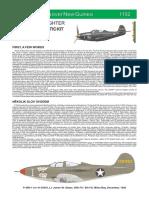 Eduard 48 P-39Q 1152