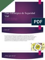 actividad 6 Plan Estratégico de Seguridad Vial