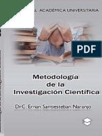 Metodología de la investigación científica - Ernan Santiesteban Naranjo