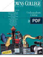 Five Towns College Undergraduate 2010 -2011 Catalog