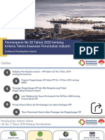 Presentasi Permenperin No 30 Tahun 2020 Kriteria Teknis KPI