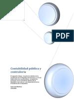 ASIGNACION DEL PRIMER CONTABILIDAD PUBLICA Y CONTRALORIA SECCION CON-115-001