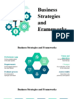 Business Strategies and Frameworks by Slidesgo