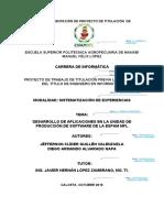 Formato 2. Propuesta de Sistematización de Experiencias