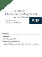 Lecture 1_Corporate Finance