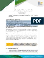 Guía de Actividades y Rúbrica de Evaluación - Unidad 1 - Reto 1 - Hábitos de Estudio (1)