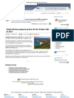 South African Property Prices Set for Further Falls in 2011