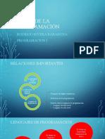 Bases de La Programación Rodrigo Rivera Programacion I