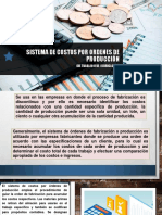 SEMANA 6 CLASE 01.- Sistema de costos por ordenes de producción