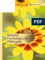 Between Psychology and Philosophy East-West Themes and Beyond by Michael Slote