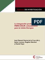 La integración productiva en mercosur UE
